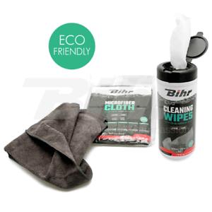 bihr kit de nettoyage a sec vulcanet motorrad 50 lingettes lavette microfibre ebay. Black Bedroom Furniture Sets. Home Design Ideas