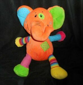 animali peluche Elephant verde rosa blu di Orange peluche Magic 16 Baby sdhQtr