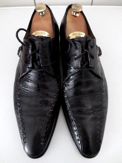 Schicke, schwarze Herrenschuhe x von Wexford,  Gr. 43, 1 x Herrenschuhe getragen, NP- c07d0e
