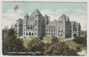 Canada-postcard-Parliament-Buildings-Toronto-P-U-1908-A276
