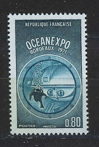 FRANCIA-FRANCE-1971-MNH-SC-1300-Ocean-Exploration