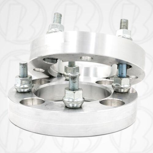 "2 USA 4x140 To 4x140 Wheel Adapters 1/"" 25mm Thick 12x1.25Fits Subaru Suzuki"