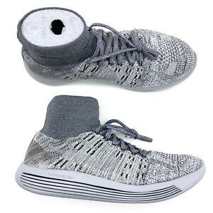 dc26b4e50721 Nike Lab Lunarepic Flyknit Pale Grey Platinum Running Shoe Men Size ...
