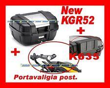 BMW R1200 GS 2013 VALIGIA BAULETTO KGR52 + PORTAVALIGIA ALLUMINIO SRA5108 + K635