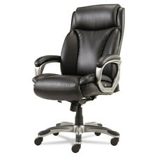 Alera Veon Executive Highback Leather Chair Coil Spring Cushioning Vn4119 New