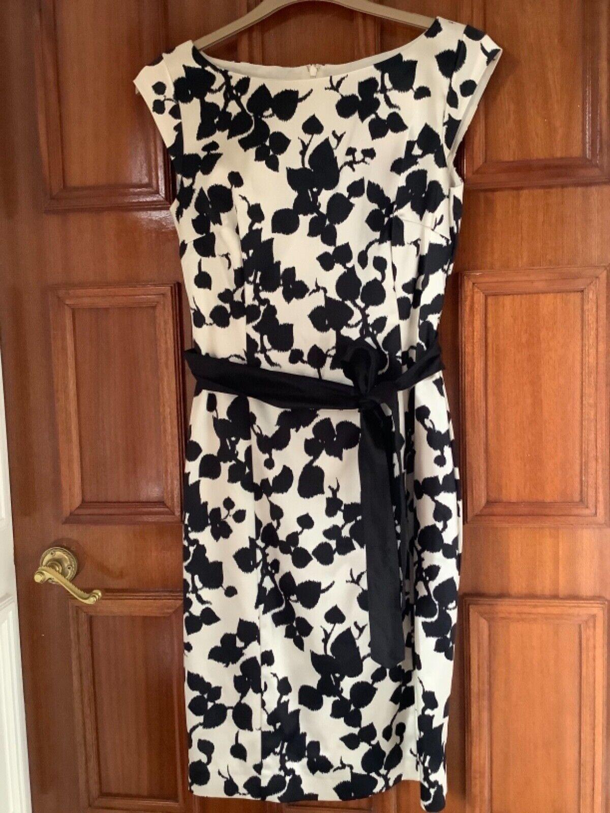 Coast Size 12 Black/Cream Dress Wedding/Occasion