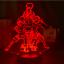 thumbnail 12 - Anime 3d Lamp Naruto Sasuke Kakashi Hinata Obito Itachi Acrylic LED Light Remote