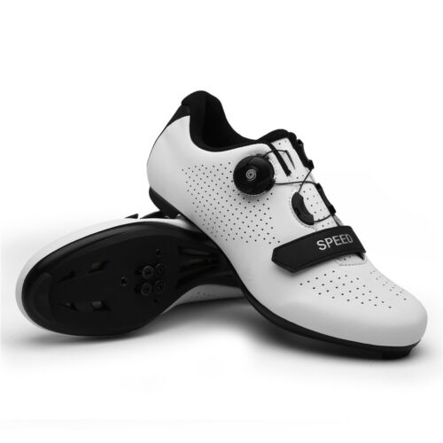 Outdoor Road Cycling Shoes Men/'s Profession Athletic Racing Bicycle Bike Shoes