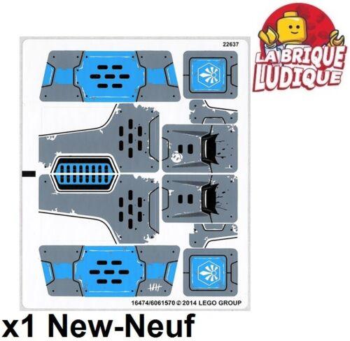 1x Sticker Autocollant Chima 70131 Rogon/'s Rock Flinger rhinocéros NEUF Lego