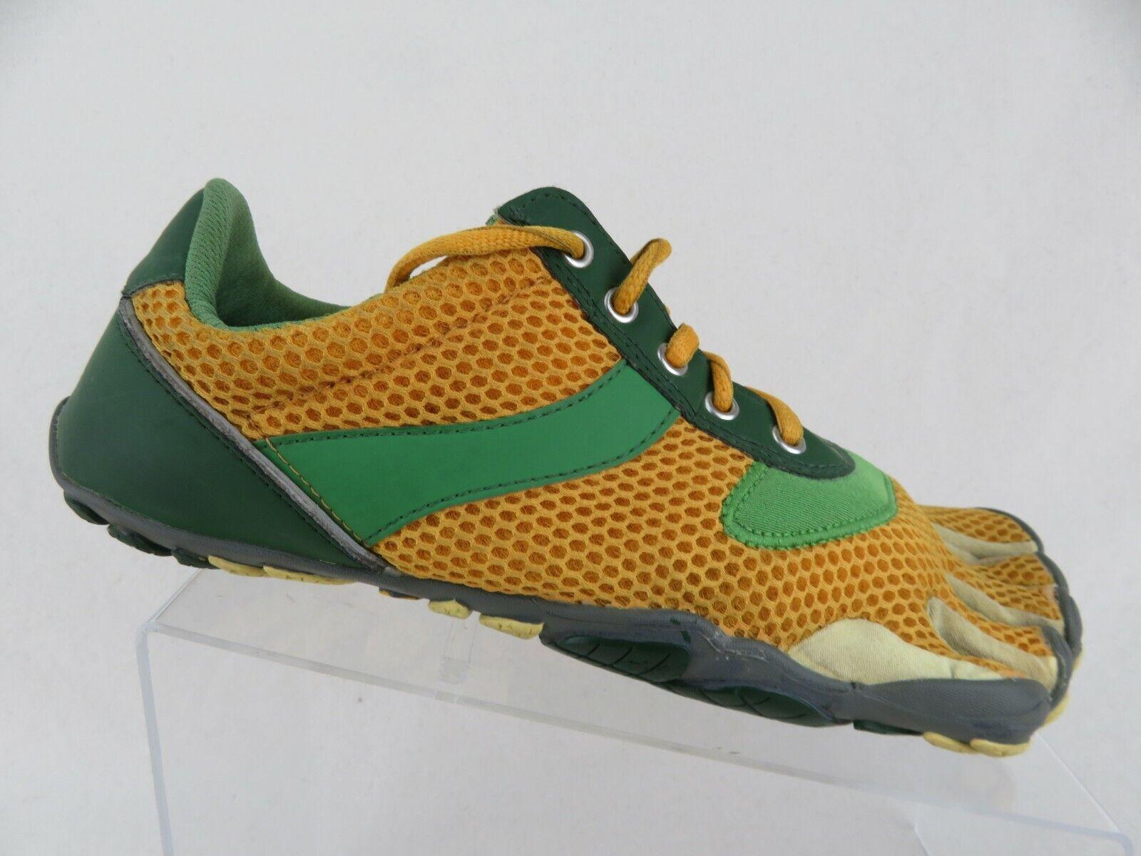 VIBRAM Fivefingers Speed encaje oro verde Z 10 (43 EU) Hombre Barefoot Zapatillas