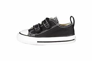 Details about Converse Shoes All Star Chuck Taylor Black 2 Strap Infant Baby Sneakers Girl Boy