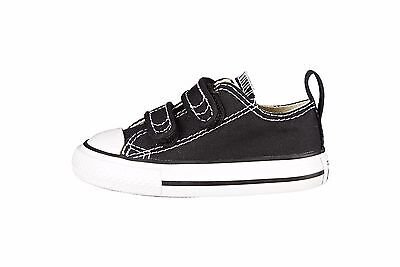 Converse Shoes All Star Chuck Taylor Black 2 Strap Infant Baby Sneakers Girl Boy | eBay