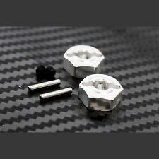 Primal RC QS 1/5 Gas Dragster Front CNC Aluminum Wheel Hubs (12mm) (2) DRAG RACE