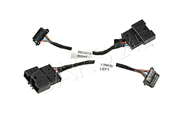 Genuine BMW E46 3 Series Rear LED Lights Adapter Cable Set 61120153650