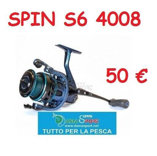 MULINELLO PESCA ALCEDO ALLUX SPIN S6 4008 8 CUSCINETTI TROUT AREA LAGO
