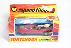 Matchbox-Speedkings-K-33-Citroen-Sm-en-su-Caja-Original-Buen-Vintage-Original