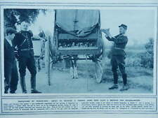 1914 CARRIER PIGEONS FRENCH MESSENGER PIGEON MOBILE LOFT WWI WW1