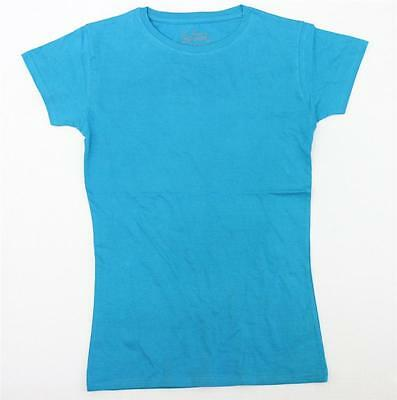 Boys J. America Youth Small Aqua  Blue T Shirt   NEW SIZE SMALL