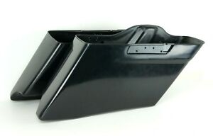 Custom-Stretched-CVO-Style-Extended-Dual-Saddlebags-Bags-Harley-14-18-FLHX-FLTR