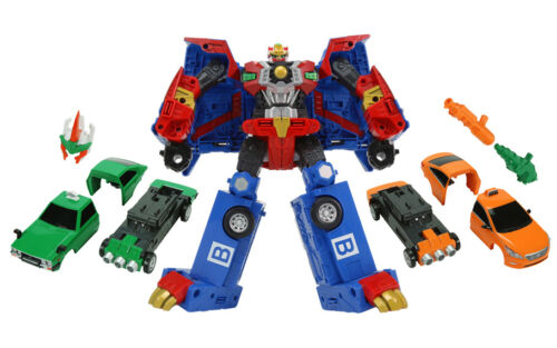 Hello Carbot Road Saver Saber Bear Transformer Transforming Robot figure Car Toy