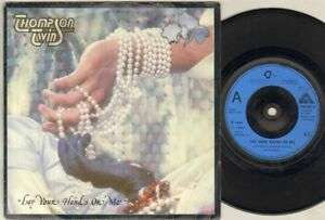 THOMPSON-TWINS-Lay-Your-Hands-On-Me-7-034-VINYL