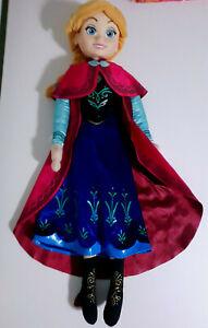 Frozen-Princess-Anna-Plush-Toy-Disney-Children-039-s-Character-Toy-74cm-Tall