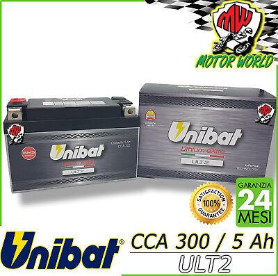 Batteria UNIBAT LITIO eXtra YTZ10S MV AGUSTA 800 BRUTALE 2012