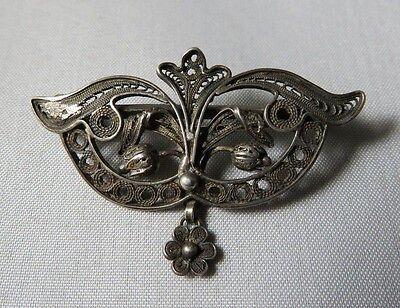 Antik Brosche Neu Heritage 1900 Familie Silber Schmuck Jugendstil Profitieren Sie Klein