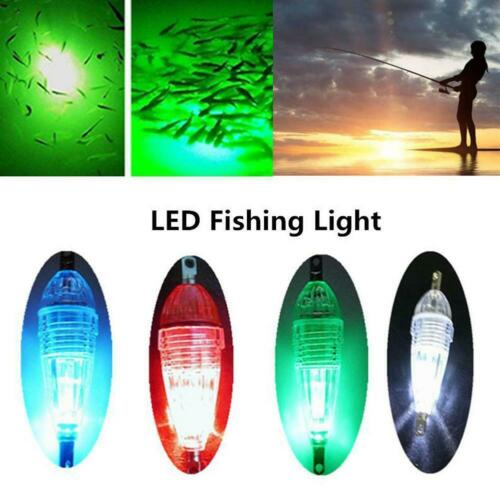 Mini LED Deep Drop Underwater Fishing Squid Bait Lure Light Flashing Light 6cm