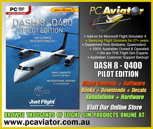 Details about Majestic Software Dash 8 Q400 Pilot Edition Boxed DVD (FSX  Addon) - Aus Seller