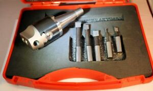 SOBA 50 mm  Boring Head Complete with Tools INT 30 Shank Metric  17113030 ISO30
