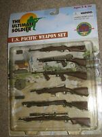 1/6th Scale Ultimate Soldier World War 2 U.s. Marine Pacific Weapon Set Of 6 Nip