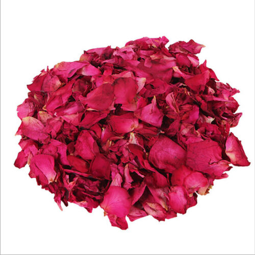 Dried Rose Petals Bath Tools Natural Dry Flower Petal Spa Whitening Shower