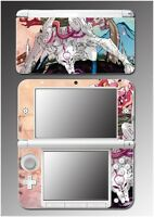 Okami Amaterasu Chibiterasu Okamiden Wolf Video Game Skin For Nintendo 3ds Xl