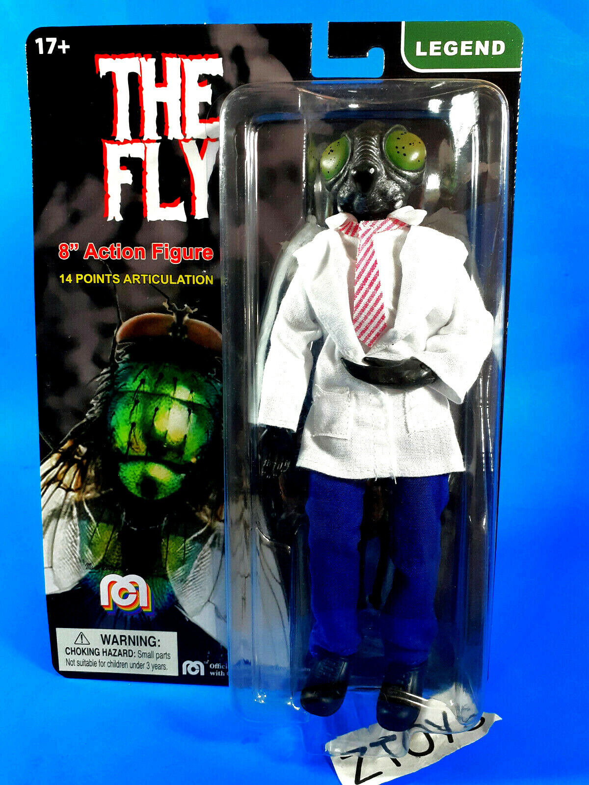 The Fly Vincent Price Cronenberg FLY Custom Action Figure