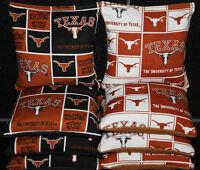 8 All Weather Cornhole Beanbags Made W University Of Texas Longhorns Fabric