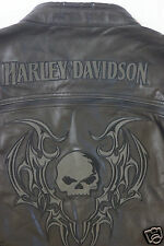 Harley Davidson Men's Reflective Blade Swithchback Leather Jacket S 97071-09VM