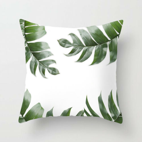 """18/"""" Plants /& Pineapple Throw Pillow Case Cushion Cover Home Decor"""