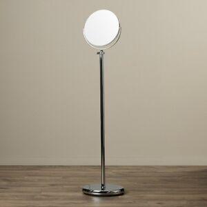 Makeup Mirror Stand Adjustable Cosmetic Free Standing Floor ...