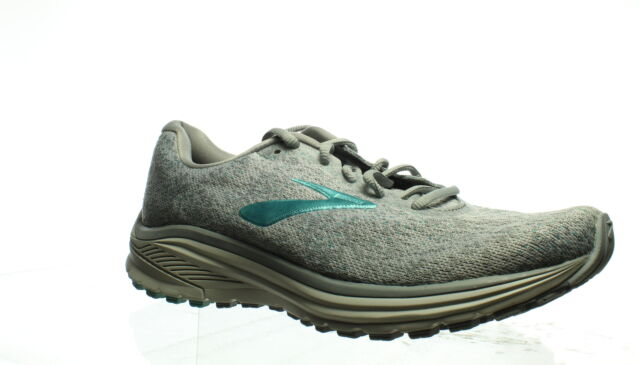 Brooks Womens Anthem 2 Grey/Grey/Teal Running Shoes Size 10 (1328088)
