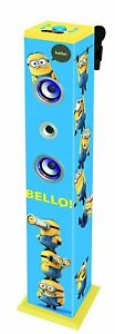 Karaoke-Minions-Bluetooth-Child-Speakers-Luminous-Sound-Effects-Vocal