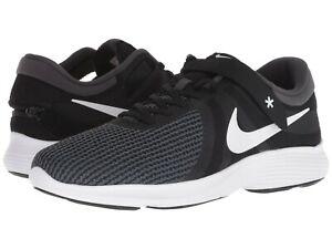bb6791988cb9 Nike REVOLUTION 4 FLYEASE (4E) Mens Black White-Anthracite AA1730 ...