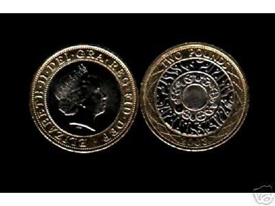 GREAT BRITAIN 2 PENCE KM-987 2004 CROWN QUEEN UNC COIN x 100 PCS MONEY LOT UK GB