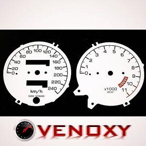 Honda CB 750 Seven Fifty Fond de Compteur BLANC