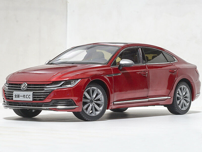 1 18 FAW Volkswagen 2018 CC (arteon) Edición Distribuidor Rojo
