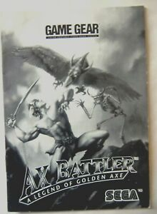 61696-Instruction-Booklet-Ax-Battler-A-Legend-Of-Golden-Axe-Sega-Game-Gear
