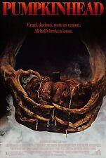 PUMPKINHEAD (1988) ORIGINAL INTERNATIONAL MOVIE POSTER  -  ROLLED