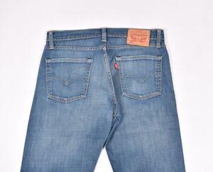 Levis-504-Herren-Jeans-Groesse-32-32