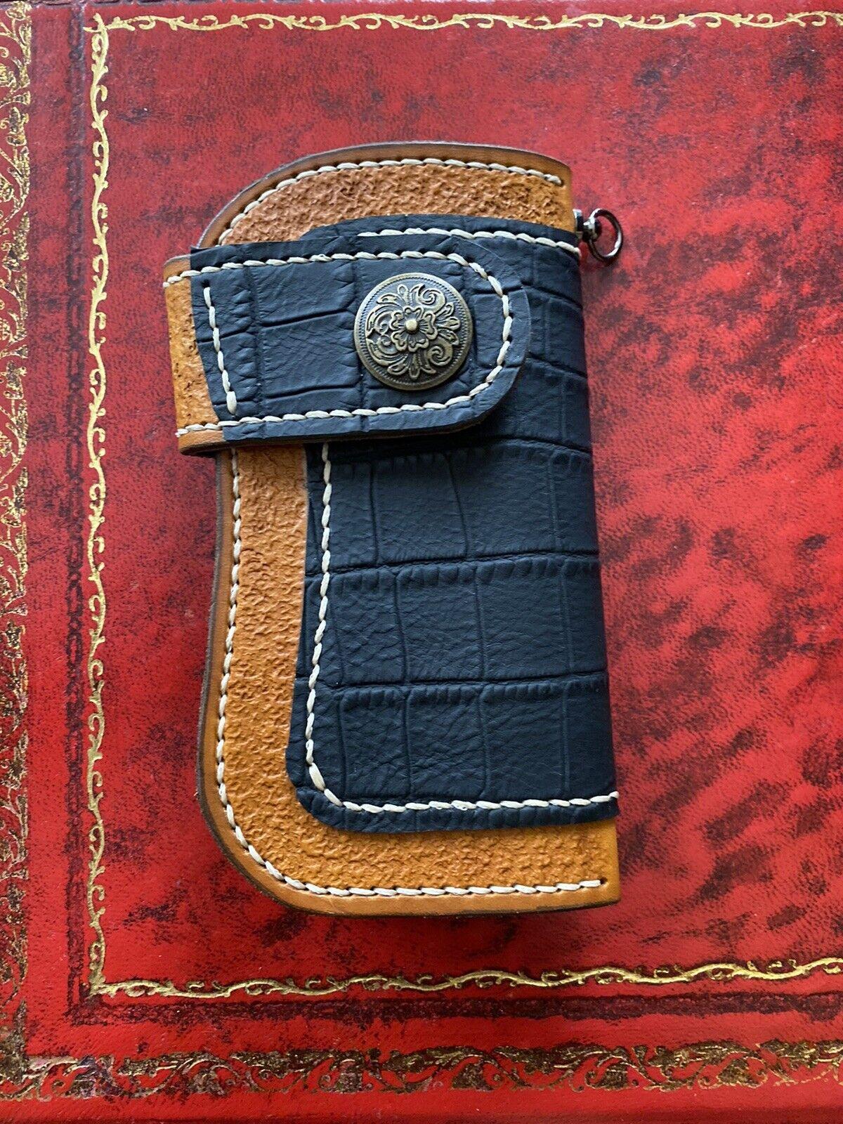 Rock n Roll Wallet , Biker Wallet , Leather WALLET