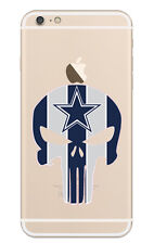 """Dallas Cowboys Punisher Sticker Decal Full Color 3"""" (Phone, Tablet, etc) DCP1-3"""